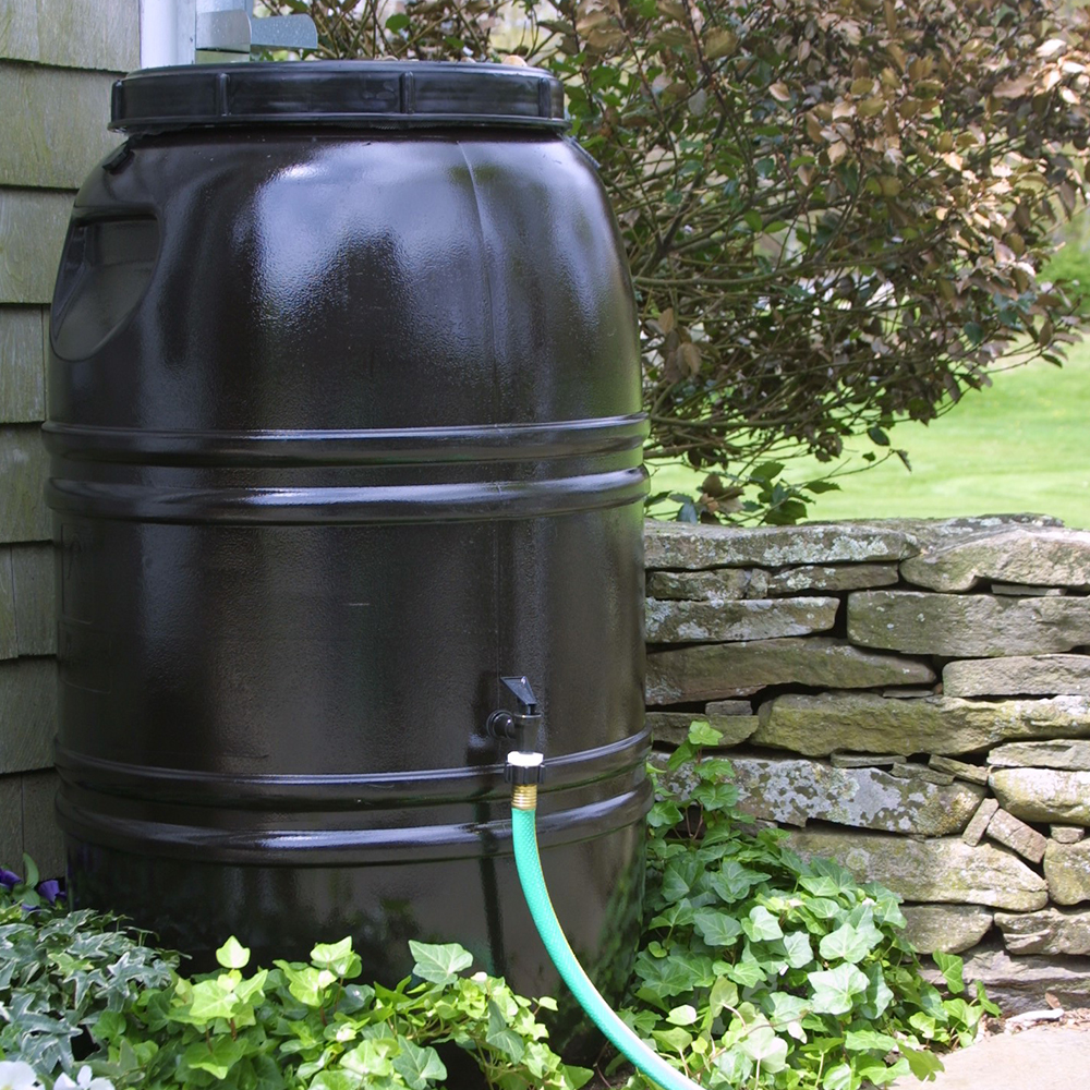 great american rain barrel earth brown the great american rain barrel